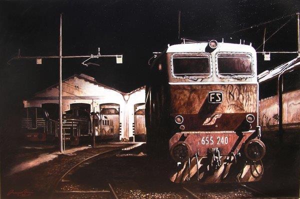 Locomotore di notte