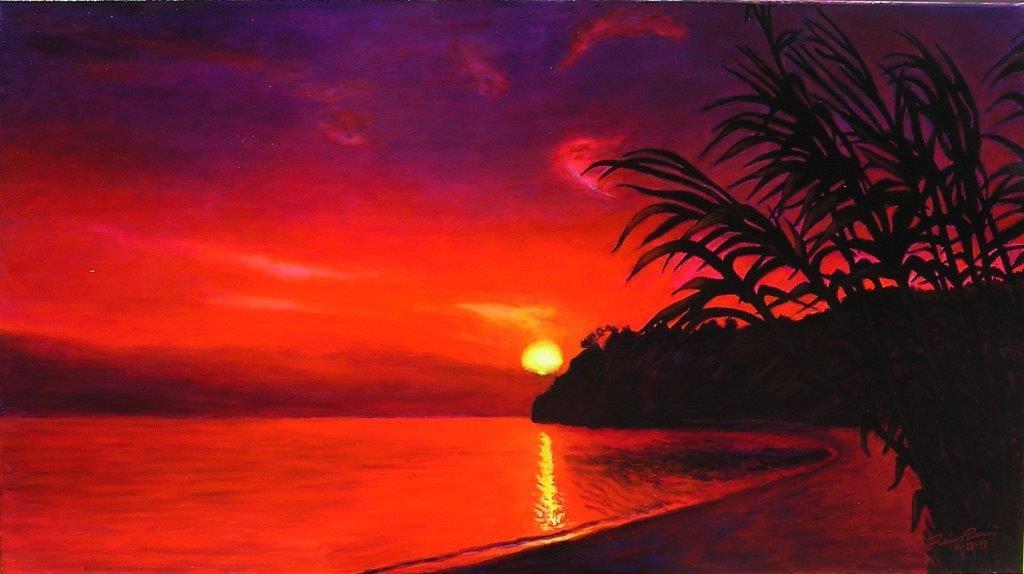 Teniamoci un tramonto in sospeso io e te...